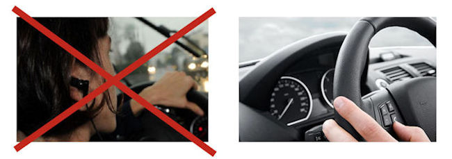Ban on earphones while driving in France